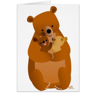 Mama Bear Note Card