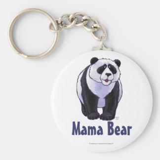 Mama Bear Panda Bear Key Chain