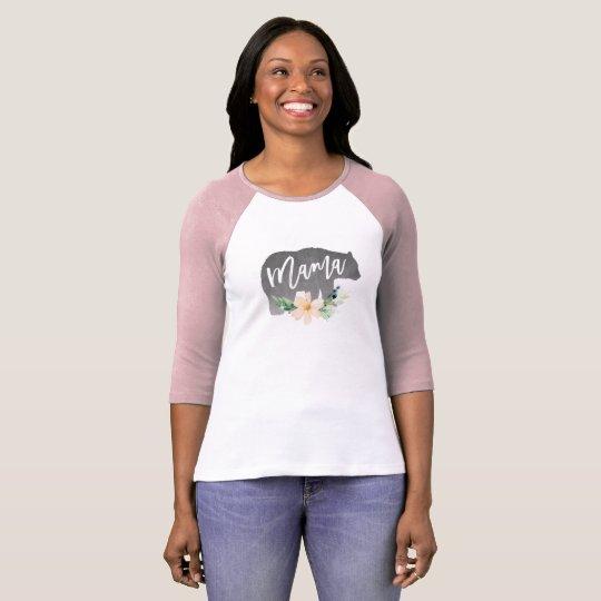 Mama Bear Shirt, Mother's Day Gift T-Shirt