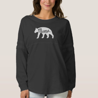 Mama Bear Spirit Jersey - White
