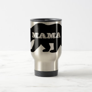 Mama Bear Stainless Steel Travel Mug
