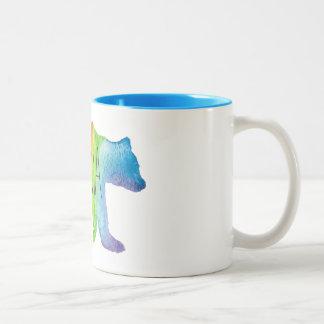 Mama Bear Watercolor Family Pride Mug