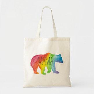Mama Bear Watercolor Family Pride Tote