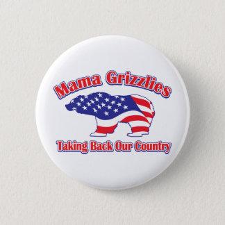 Mama Grizzlies 6 Cm Round Badge