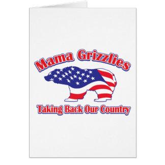 Mama Grizzlies Greeting Card