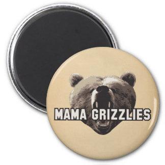 Mama Grizzlies 6 Cm Round Magnet
