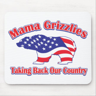 Mama Grizzlies Mousepad