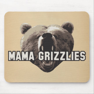 Mama Grizzlies Mouse Pads