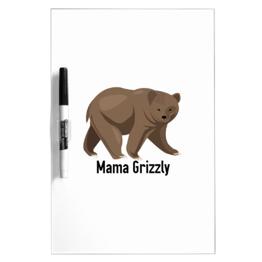 Mama Grizzly Dry-Erase Whiteboards