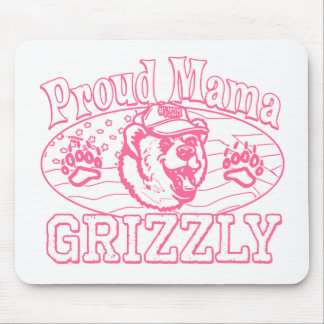 Mama Grizzly Gear for Patriotic Moms Mouse Pads
