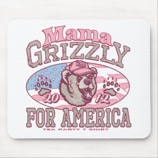 Mama Grizzly Gear for Patriotic Moms Mousepads