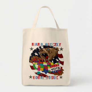 Mama-Grizzly-Going-Rogue-1 Tote Bags