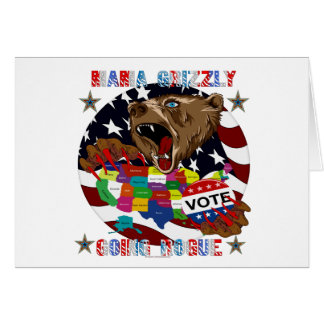Mama-Grizzly-Going-Rogue-1 Greeting Card
