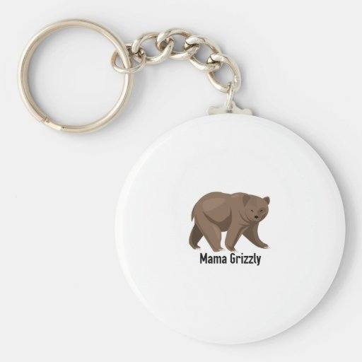 Mama Grizzly Key Chains