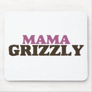 Mama Grizzly Mouse Pads