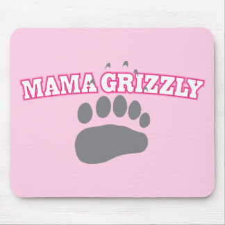 Mama Grizzly Mousepad