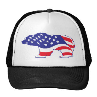 Mama Grizzly Patriotic Grizzly Hats