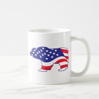 Mama Grizzly Patriotic Grizzly Coffee Mug