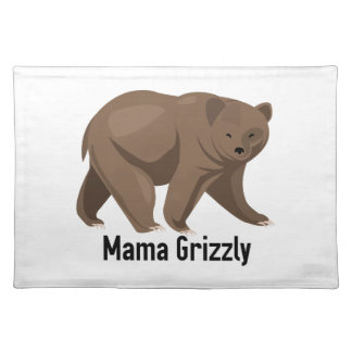 Mama Grizzly Place Mats