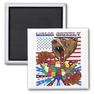 Mama-Grizzly-Set-2 Refrigerator Magnet