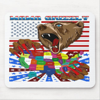 Mama-Grizzly-Set-2 Mousepads