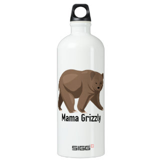Mama Grizzly SIGG Traveller 1.0L Water Bottle