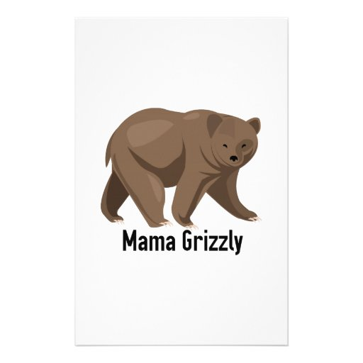 Mama Grizzly Stationery