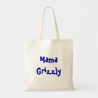 Mama Grizzly Tote Canvas Bags