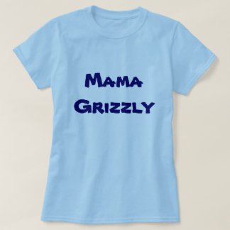 Mama Grizzly Women's cap sleeve t-shirt