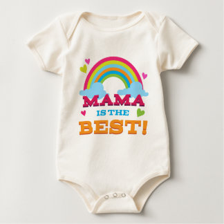 Mama Is the Best Baby Bodysuit