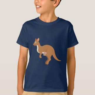 Mama Kangaroo and Joey T-Shirt