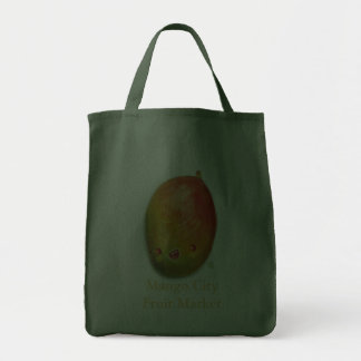 mama loves mango grocery tote bag