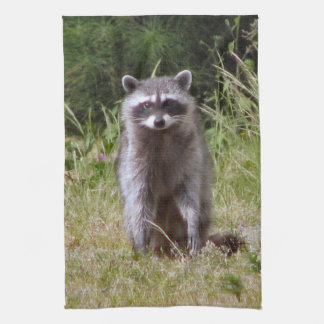 Mama Raccoon Tea Towel
