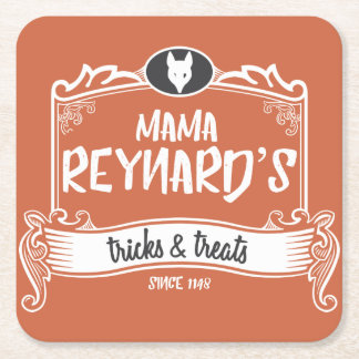 Mama Reynard's Tricks & Treats Coasters