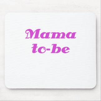 Mama to be mouse pad