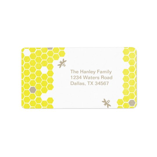 Mama to bee Address Label