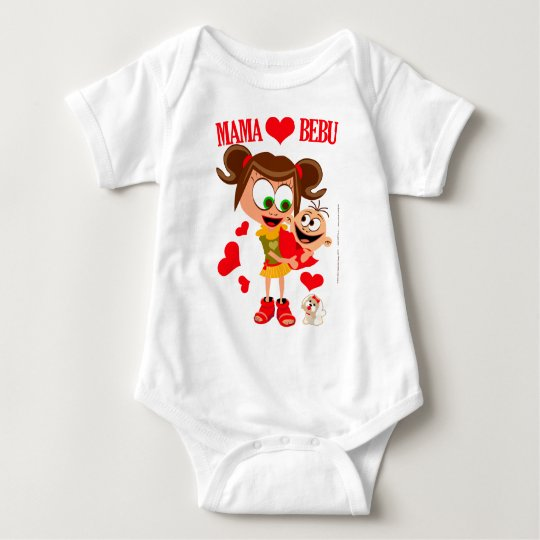 Mama Voli Bebu - Bodici - Beli Baby
