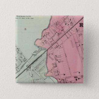 Mamaroneck, Rye Neck 15 Cm Square Badge