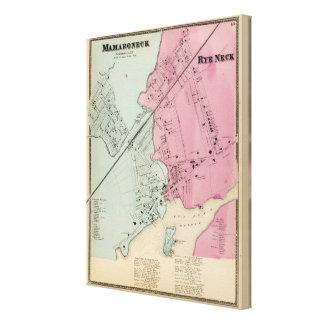 Mamaroneck, Rye Neck Canvas Print