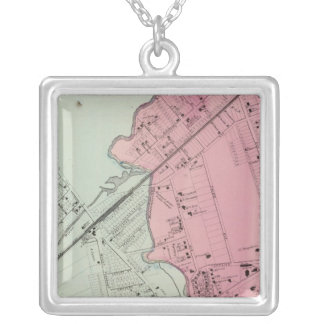 Mamaroneck, Rye Neck Silver Plated Necklace