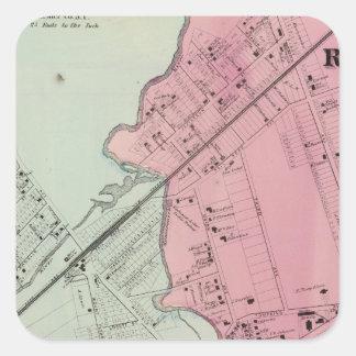 Mamaroneck, Rye Neck Square Sticker