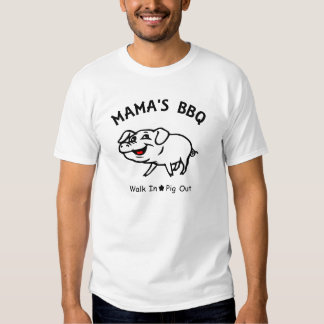 Mama's BBQ Tee Shirt
