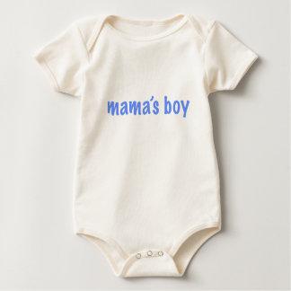 Mama's Boy Baby Bodysuit