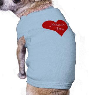 Mamas Boy Custom Personalized Sleeveless Dog Shirt
