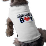 Mama's Boy Dog Shirt