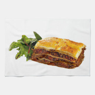 """Mama's Lasagne"" design kitchen towel"