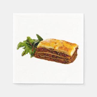 """Mama's Lasagne"" design paper napkins"