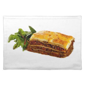 """Mama's Lasagne"" design place mat"