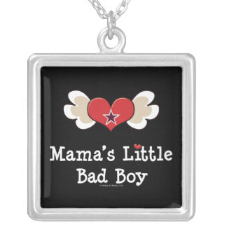 Mama's Little Bad Boy Necklace