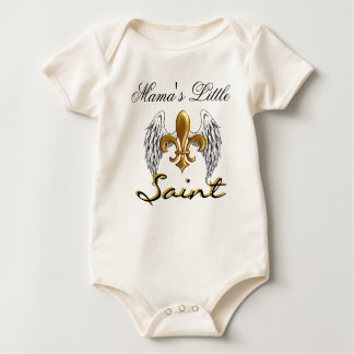 Mama's Little Saint!!! Baby Bodysuit